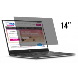 Acheter Filtre de confidentialité PC Portable 14 pouces - Livraison & Retour gratuits | ToucheDeClavier.com