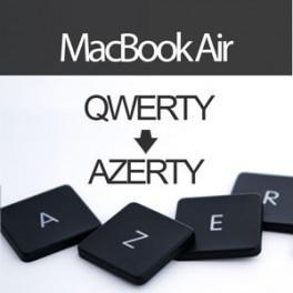 acheter convertir clavier macbook air 13 pouces en azerty. Black Bedroom Furniture Sets. Home Design Ideas
