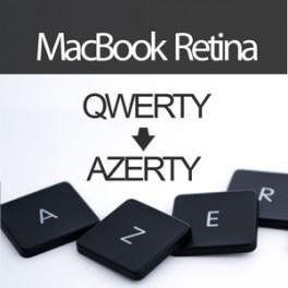 Acheter Convertir Clavier MacBook Pro Retina en AZERTY - Livraison & Retour gratuits | ToucheDeClavier.com