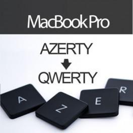 Acheter Convertir Clavier MacBook Pro UniBody en QWERTY - Livraison & Retour gratuits | ToucheDeClavier.com