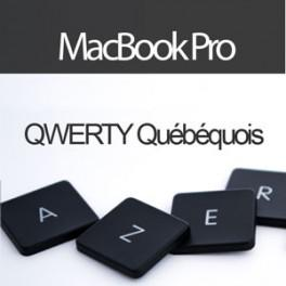 Acheter Convertir Clavier MacBook Pro UniBody en QWERTY Québécois - Livraison & Retour gratuits | ToucheDeClavier.com