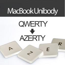 Convertir Clavier MacBook UniBody Blanc en AZERTY