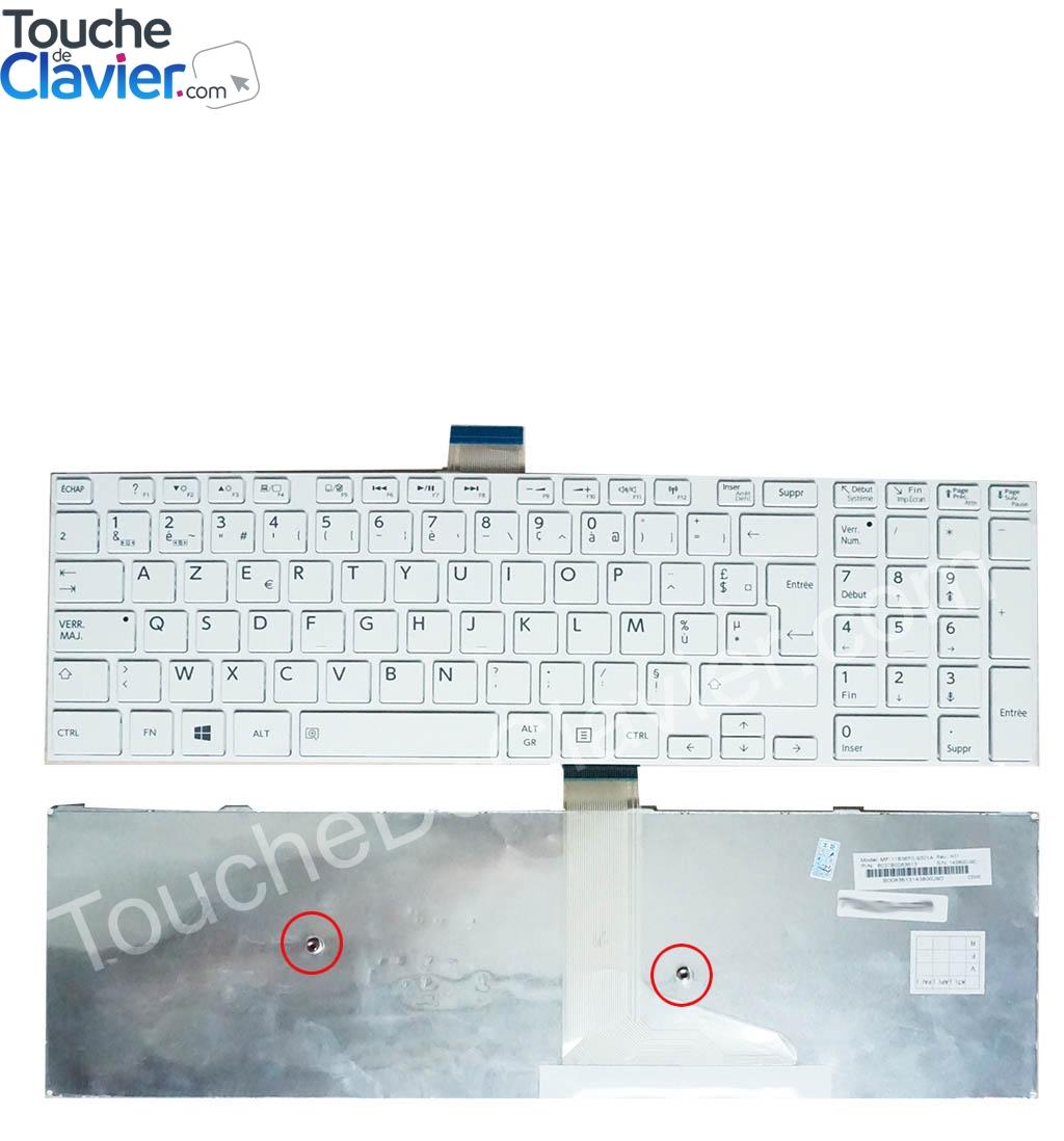 Clavier Toshiba Satellite L50 A 1DE L50 A 1DG L50 A 1FQ