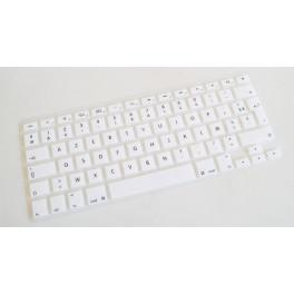 Protection Clavier MacBook Pro Unibody 13 15 17 Pouces Blanche