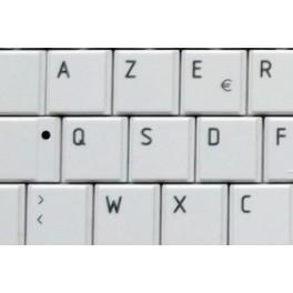 Acheter Touche Clavier pour Toshiba Qosmio X775 Series (Blanches Brillantes) | ToucheDeClavier.com