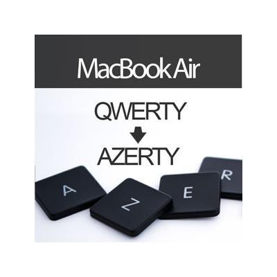 acheter convertir clavier macbook air 13 pouces en azerty livraison retour gratuits. Black Bedroom Furniture Sets. Home Design Ideas